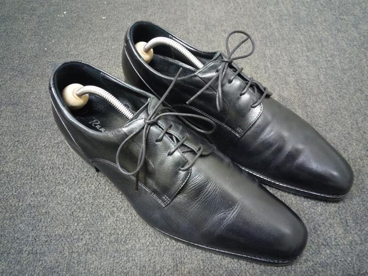 靴紐の交換完了