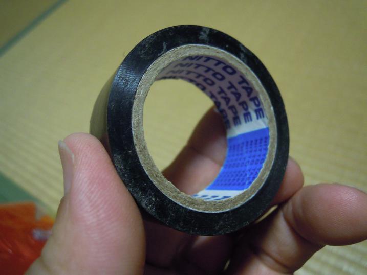 ミニオンビーチボール絶縁テープが使えないか?