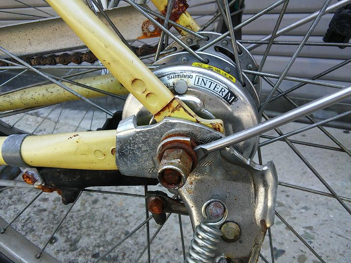 音 自転車 ブレーキ