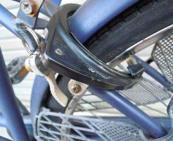 自転車のリング錠