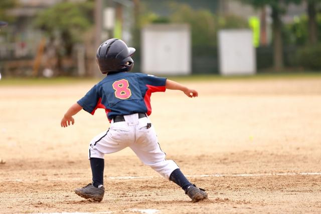 少年野球のランナー