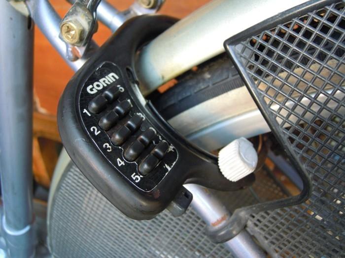 自転車リング錠