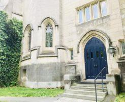 プリンストン大学の青い扉