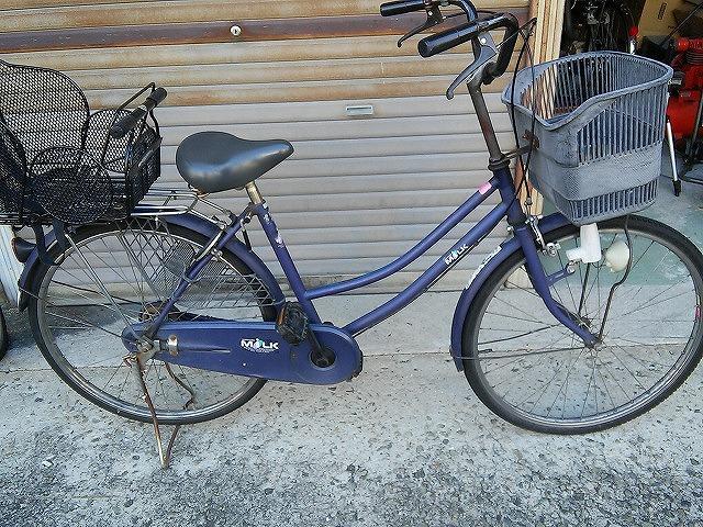 今回タイヤ交換をした自転車